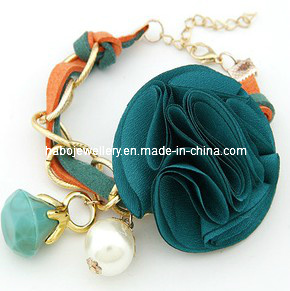 Braided Bracelet Set with Trendy Charms (XBL12986) pictures & photos