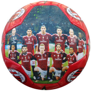 Football Star Image Printed Soccer Ball / Football