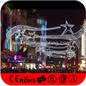Outdoor Christmas Commercial Cross Street LED Motif Lights for Holiday pictures & photos