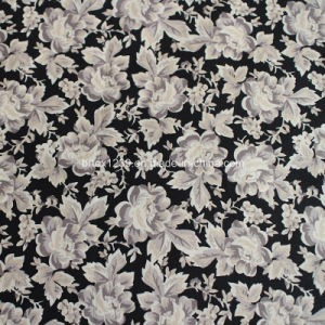 100%Cotton Poplin Fabric with Printed (40X40/133X72) for Shirting Use pictures & photos