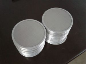 4 Layers 20-200 Mesh Stainless Steel Wire Mesh Filter Discs pictures & photos