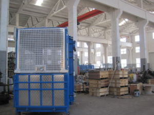 Double Cage high Speed Construction Hoist (SC320/320TD) pictures & photos