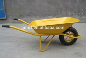Garden Hand Barrow Cheap Tool Wagon Cart with Air Wheel Wb6400 pictures & photos