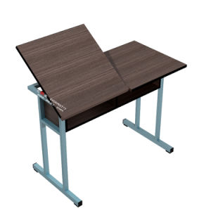 School Furniture Adjustable Kid′s Drafting Table for Sale pictures & photos