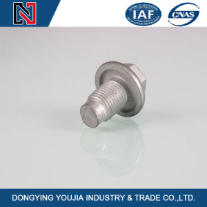 Carbon Steel Hexagon Flange Bolts in Stock pictures & photos