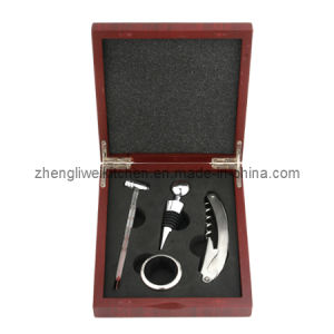 Wine Tool Set in MDF Box 608302 pictures & photos