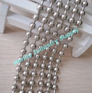 Hanging Screen 6mm Silver Metal Stainless Steel Ball Chain pictures & photos
