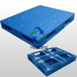 L1200*W1000*H150mm HDPE/PP Plastic Pallets; Picture Frame Bottom; Closed Deck; with Steel Tubes pictures & photos
