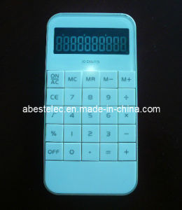 10 Digits I-Phone Shape Calculator with Light