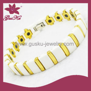 Hot Sale Fashion Ceramic Bracelet Jewelry (2015 Gus-Cmb-038wg) pictures & photos
