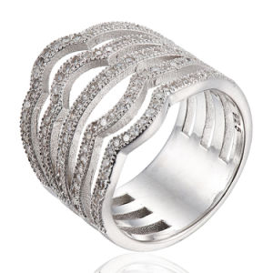 Fashion Silver Ring CZ Stone pictures & photos