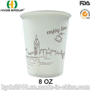 8oz Disposable Coffee Paper Cup with Own Logo (8oz-14) pictures & photos