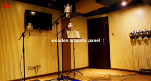 Acoustic Ceiling Acoustic Board Ceiling Board Wooden Acoustic Panel for Church pictures & photos