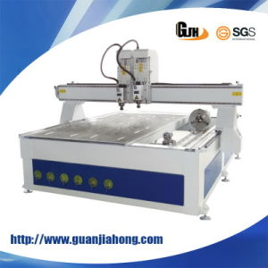 2D & 3D, Multi-Workstage, Vacuum Table, with Rotary Axis, 1325 Mutil Function Wooden Carving CNC Router Machine pictures & photos