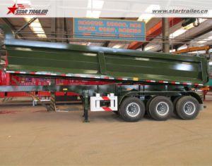 Tri Axle Dump Semi Trailer Semi Tipper for Sale pictures & photos