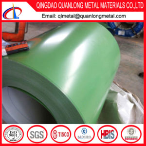 Green Color PPGI Steel Coil for Roofing Use pictures & photos