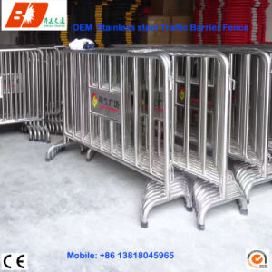 304 SUS Stainless Steel Pedestrian Barrier Crowd Control pictures & photos
