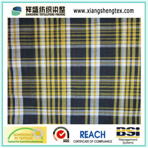 Yarn-Dyed Cotton Check Fabric for Shirt (100% Cotton) pictures & photos