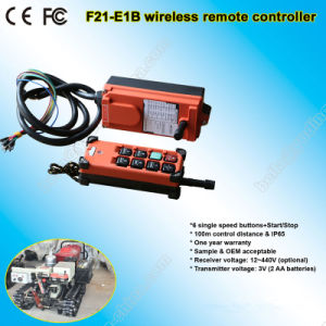 F21-E1b Industrial Radio Remote Control for Cranes pictures & photos