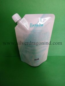 Stand up Spout Pouch for 500ml Mask Packaging pictures & photos