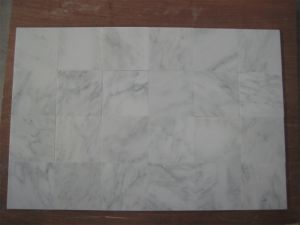 Construction Building Decorative Material for White Marble Floor Tile pictures & photos