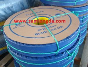 PVC Discharge Water Hose / PVC Layflat Hose pictures & photos