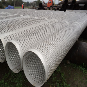 ASTM A53 Galvanized Carbon Steel Bridge Slot Screen for Well Drilling / Bridge Slot Screen pictures & photos