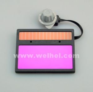 Solar Powered Auto-Darkening Welding Lens (WH711) pictures & photos
