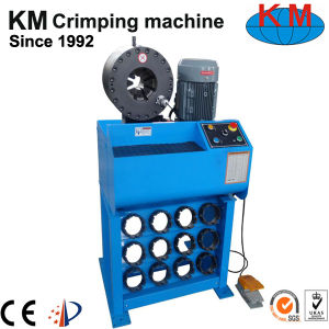 """Touchscreen Automatic Hydraulic Hose Crimping Machine for 2"""" Rubber Hose/Pipe Price pictures & photos"""