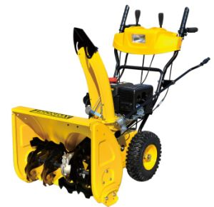 Utility and Cheap 6.5HP Gasoline Snow Thrower (STG6556-AE BS) pictures & photos