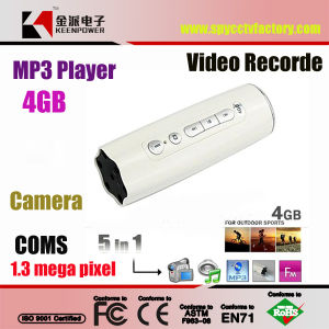 4GB Outdoor Sports Camera Mini DVR Camcorder LED Flashlight & MP3 pictures & photos