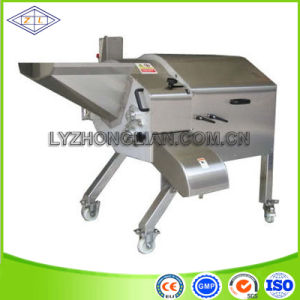 Big Capacity Stainless Steel Apple Cube Cutting Machine pictures & photos