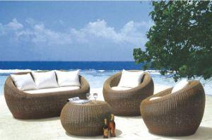 PE Rattan Sofa Seats (6116) pictures & photos