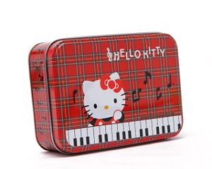 Hello Kitty Tin Cans Metal Box pictures & photos