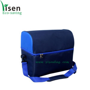 Polyester Single Shoulder Food Cooler Bag (YSCB00-0186) pictures & photos