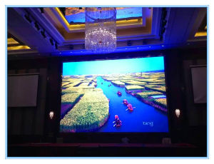 P6.25 Indoor Die-Casting Aluminum Cabinet LED Display Screen for Entertainment/Hotel/Market/Stage pictures & photos