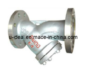 Flanged Cast Y-Shaped Filter-Water Strainer- Oil Strainer Filter pictures & photos