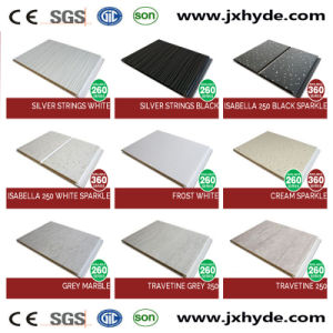 7*250mm Middle Groove Lamination PVC Panel Wall Decoration Panel pictures & photos