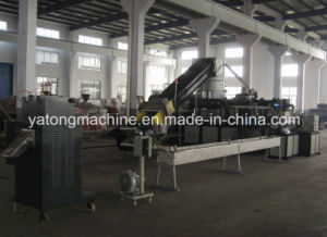 Film Double Stage Granulating Line pictures & photos