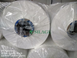 500mm White Silage Wrap Film for Pakistan pictures & photos