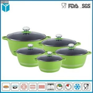 Die Cast Aluminum Sauce Pots Casserole for Kitchenware Set