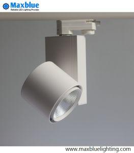 White Housing 30watt COB LED Track Light for Supermarket pictures & photos
