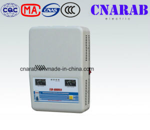 High Efficiency Single Phase Stabilizer, Universal Voltage Stabilizer for Generator 6000va pictures & photos