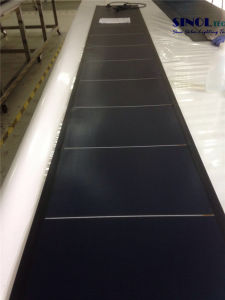 72W Flexible, Thin Film Solar Panels for Roofing PV System (SN-PVLS11-72) pictures & photos