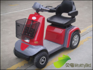 Electric Mobility Scooter with CE (414L--Red) pictures & photos