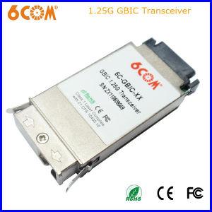 1.25g 10km Sc Connector 1310nm GBIC SFP Optical Transceiver