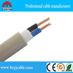 BVVB Solid Flat Sheath Cable Copper Wire pictures & photos