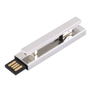 Tie Clip Metal USB Flash Drive (USB 2.0) pictures & photos