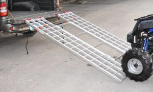 Tri-Fold Aluminum Ramps PR10306 pictures & photos