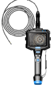 """7.0mm Industrial Video Inspection Endoscope with 5.0"""" LCD Monitor, 2m Test Cable"""